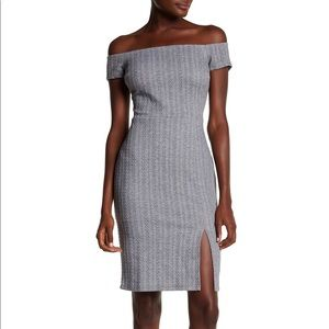 Ali & Jay Won't be Silenced Off the Shoulder Dress